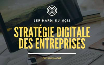 """Permanence """"Stratégie Digitale des Entreprises"""" gratuite"""
