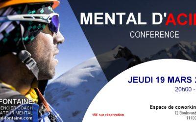 """Conférence """"Mental d'Acier"""" Paul Fontaine"""